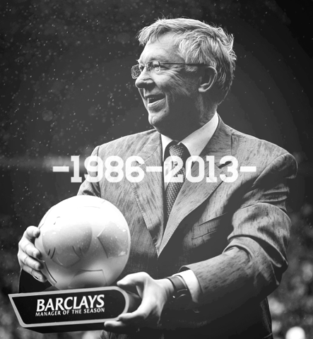 football-and-magic:  Special session of pictures: Sir Alex Ferguson [5/7].