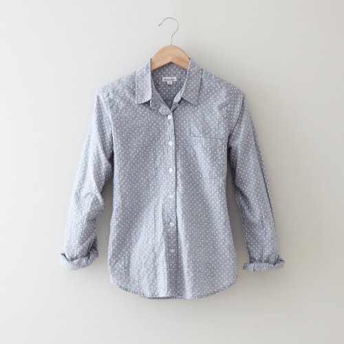 reverse seam shirt (in navy floral print) from Steven Alan this color // trading-places