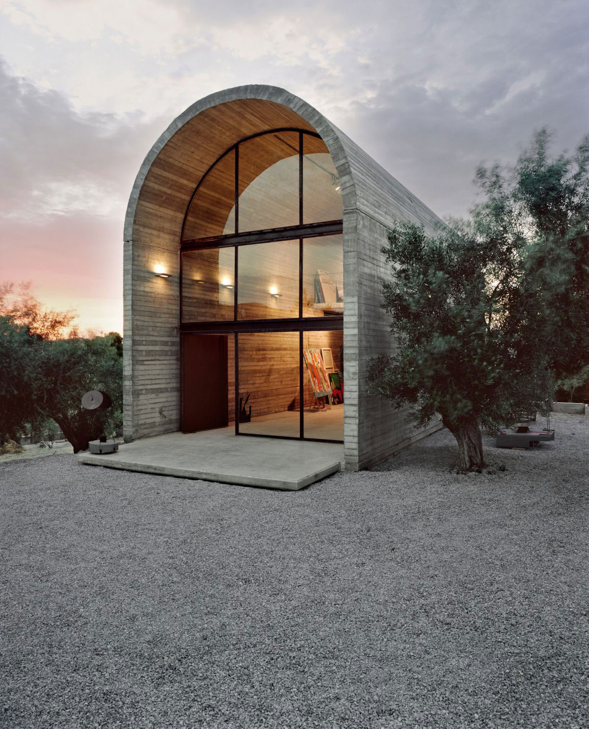 art warehouse, boeotia, greece, by a31 architecture.