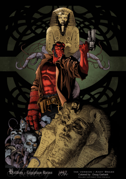 westcoastavengers:  Hellboy by Andy Brase