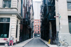 joelzimmer:  Canyons (Locking Up)  Soho, Manhattan