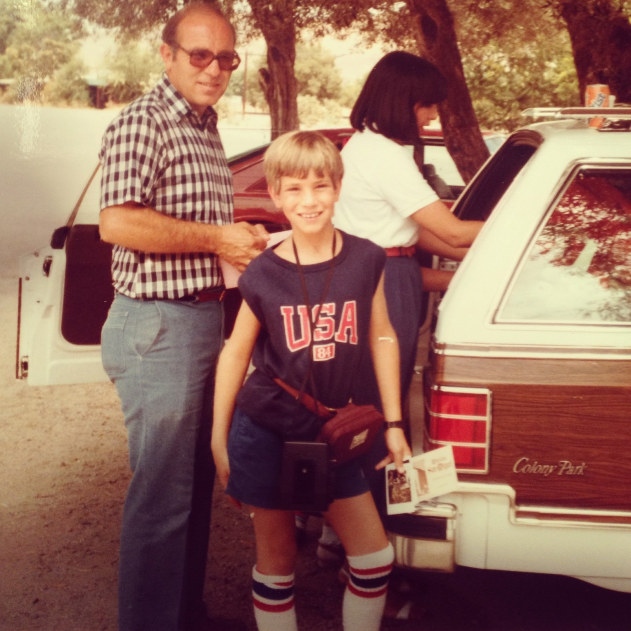 California….. back in the day…. me and mom and dad and the station wagon … under the sun…. much love for my family… much love for my home….keep California California….