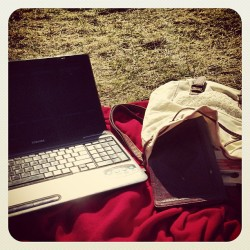 Augustana, homework, my Bible, and sunshine. Doesn't get better. Time to start over. #newsemester #Jesuslovesme