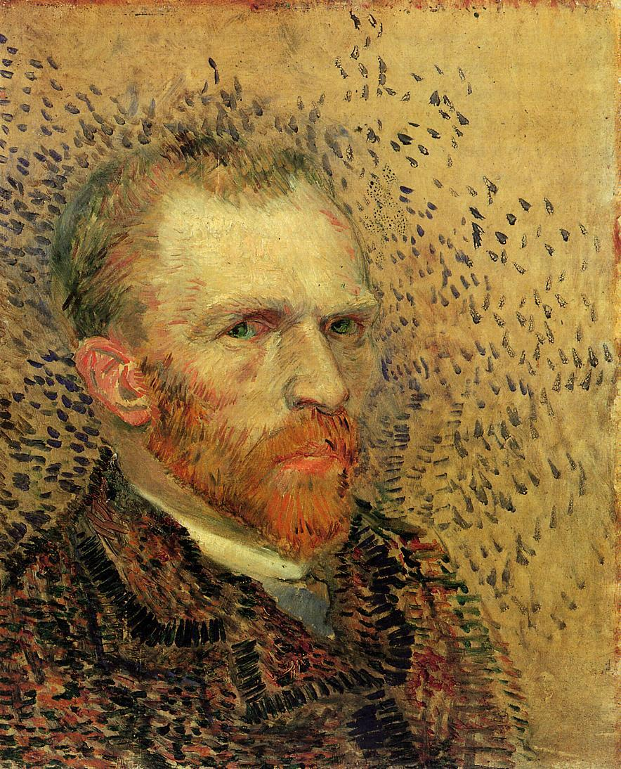 cordisre:  Happy Birthday, Vincent! Self-Portrait ll (1887)