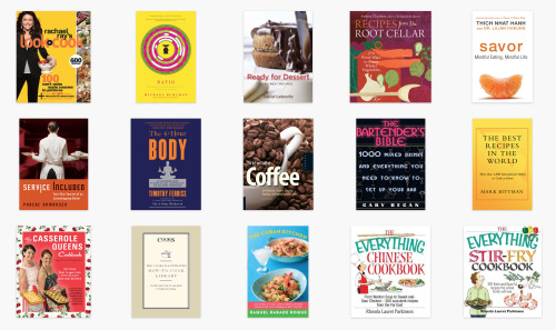 just-yasmeen:  I have been getting so many questions about how to become a better cook and how to learn cooking. My answer is always to get cookbooks because you learn so much from chefs and experts. That's how I learned. The screenshots show most of the cookbooks I have saved as e-books and I have probably the same amount in physical books. I just love learning about food so much:):)
