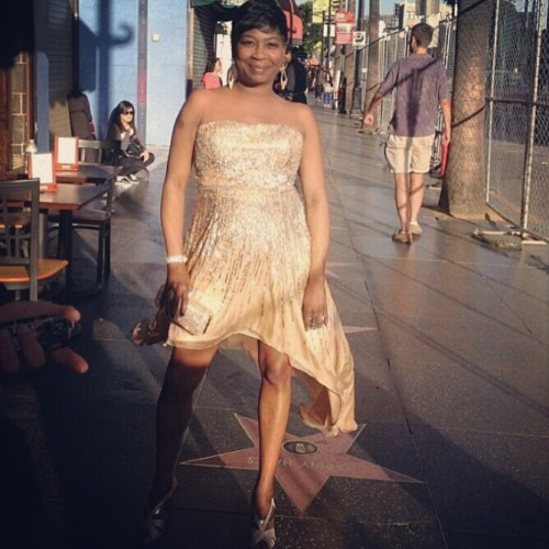 Sweet Brown looks beautiful.  I want this dress.