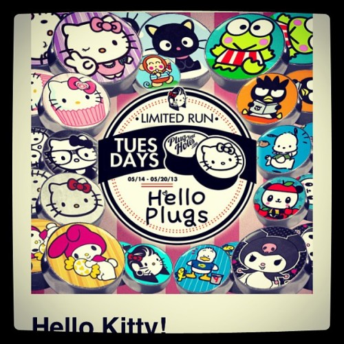 Damn pyg just released some Hello Kitty plugs. Idc ho gay i sound i want the cat, frog, or penguin… @plugyourholes