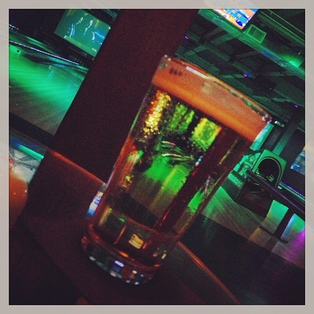 Drink the pain away & bowling! (at The BLVD)