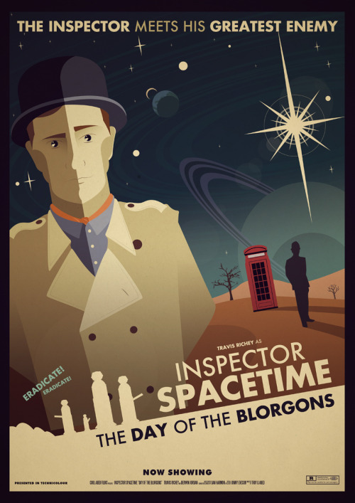 jaythemaniac:  Inspector Spacetime: The Day Of The Blorgons by ~ameba2k