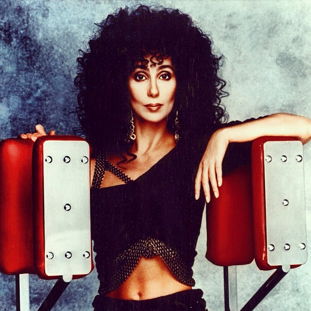 "Happy Birthday #Cher! ""oohh"" #Believe #IfICouldTurnBackTime #SaveUpAllYourTears #StrongEnough #SongForTheLonely #TakeMeHome #TheShoopShoopSong #BangBang #DarkLady #YouWouldntKnowLove"