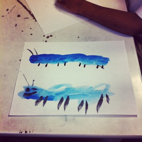 #caterpillar #painting #drawing #art #sketch #work #therapy #autism