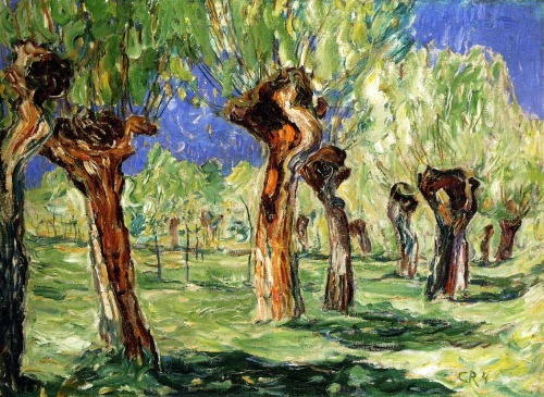 german-expressionists:  Christian Rohlfs, Weiden in Spring, 1904