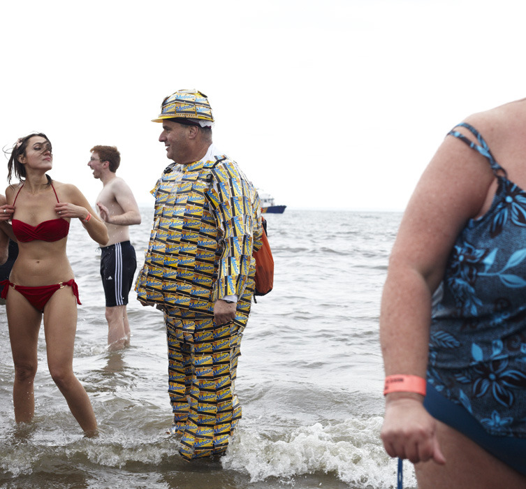 New Year's Day Swim / Polar Bear Club / Coney Island, Brooklyn
