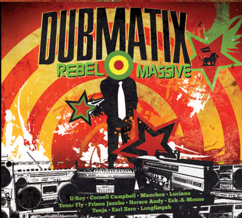 "Dubmatix has just released Rebel Massive, a huge album loaded up with classic reggae influences and modern dub wizardry. That alone is impressive, but then the guest vocalists really shine: from legends like Eek-A-Mouse, U-Roy, and Horace Andy, to dnb standout Tenor Fly and the versatile Longfingah. Where to start… Oh yes, the anthemic ""Pull Up Selector"" which comes fully-equipped with a fun and frenetic video:  Big bass, great vocals, this is what a reggae single needs to be. ""Black Market War Dub,"" the only instrumental, more than holds it own, full of Dubmatix's distinctive style of slow crushing bass and well-crafted layers. ""Seeds of Love & Life"" (feat. Luciano) is another stormer, and the early W~rm Dub Mix is spectacular as well. Lots of great tracks here, all sorts of reggae vibes to satisfy! Here's the full album preview, plus that remix and a jungle version from Marcus Visionary:"