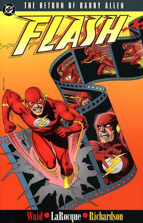 #101 ANNOUNCEMENT = The Return of Barry Allen This is the end. For Mark, anyhow. But let's talk about this book first. Barry Allen returns to find his protege has taken the mantle of the Flash? GO.  Once Wally West was just Kid Flash, sidekick to his mentor and friend the Flash, a.k.a. Barry Allen. The death of Barry left Wally the fastest man alive—and the new Flash. Now, somehow, Barry has returned—as a violent and paranoid speedster determined to eliminate what h  How great is that synopsis that it just cuts off? I found it the same in several places! As announced in the huge #100, this will be Mark's final episode. No jokes, this is real. Well, there will be jokes during #101, but he won't be returning to the show. Guy's an enigma.  This is your chance to email the show and say your final goodbyes to The Former DC Historian™, actor, writer, entrepreneur, and black man. He's had a good run, no doubt about it. Be sure to tune in and experience his final time reading the letters to close out the show.  Check the Twitter for a link to the LIVE Google Hangout! Also, review us in iTunes, yea? #exposure