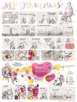 A comic by stephen-collins, from Grayson Perry's guest-edited issue of New Statesman.