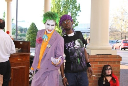 It's me and Joker at MTAC! LOL