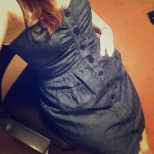 I just added this to my closet on Poshmark: Denim Button-Up Dress. (http://bit.ly/18WEikV) #poshmark #fashion #shopping #shopmycloset