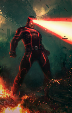 Cyclops by ~Memed —-x—- More: | Marvel | Random |