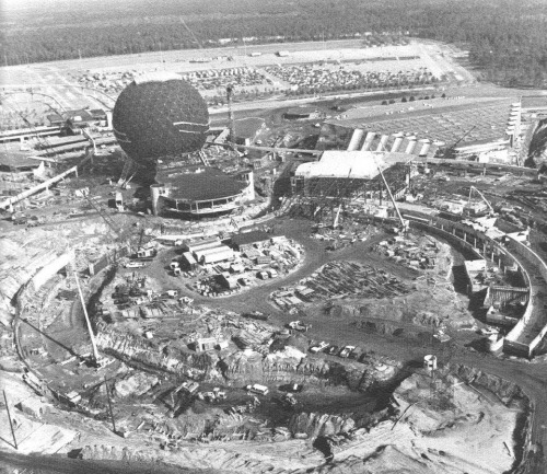 The building of spaceship earth at disney's Epcot center