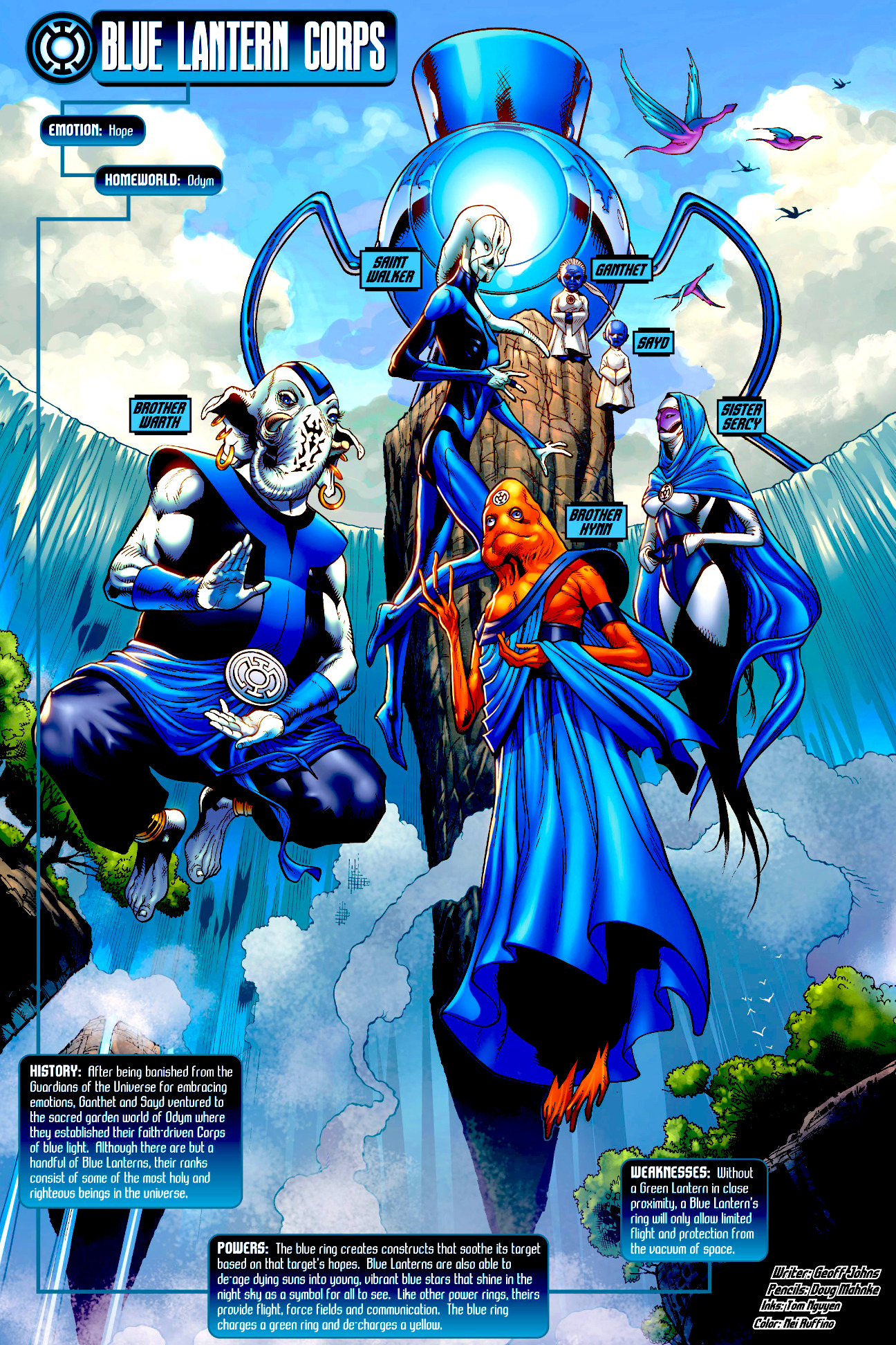 I love comic covers: Remake: Blackest Night Tales of the