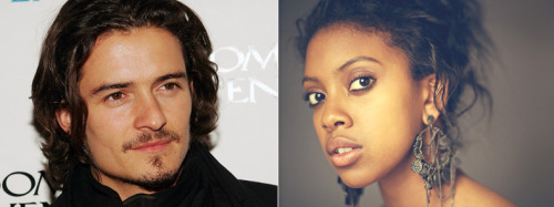 "fifineadore:  accras:  Orlando Bloom & Condola Rashad To Star In Broadway's 'Romeo And Juliet' Orlando Bloom (""The Lord of the Rings"") and Tony Award nominee Condola Rashad (Stick Fly, The Trip to Bountiful) will be the star-crossed lovers of a new Broadway revival of Romeo and Juliet, to be staged by Tony Award nominee David Leveaux  at the Richard Rodgers Theatre.  The production will also star two-time Tony Award nominee Jayne Houdyshell as the Nurse and Tony nominee Joe Morton as Lord Capulet. The Capulets will be played by black actors and the Montagues by white actors.  The play is to begin previews Aug. 24 for a Sept. 19 opening.   Um, yes, please."