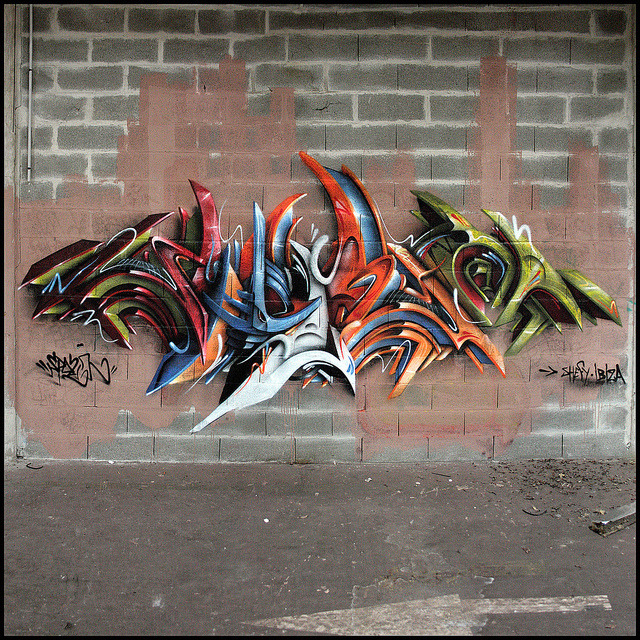 graffmanifesto:  SPAZM by The Mouarf on Flickr.