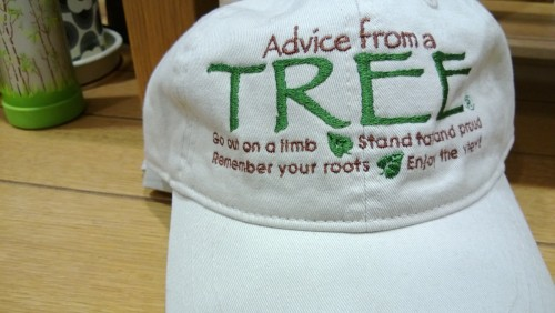 "They must mean ""tree"" in the slang sense. You'd have to be stoned to think this was the right font choice."