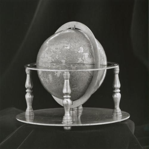 "In honor of Earth Day, here's the Earth … as depicted on our Hunt-Lenox Globe, one of the Library's greatest treasures. Located in our Maps Division, the globe was prepared around 1510, and is the earliest surviving engraved copper sphere from the period immediately following the discovery of the New World, meaning it was one of the first cartographic representations of the Americas known to geographers. Of the two continents in the Western hemisphere, only South America is represented, appearing as a large island with the regional names ""Mundus Novus"" (the New World), ""Terra Sanctae Crucis"" (the Land of the Holy Cross), and ""Terra de Brazil"" (the Land of Brazil)."