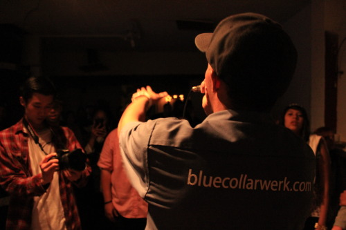 bluecollarwerk:  Thanks again to OSA for letting us rock Flex Factory last night & to everyone who supported The Graveyard Shift.  Hella Dope! #COV!!
