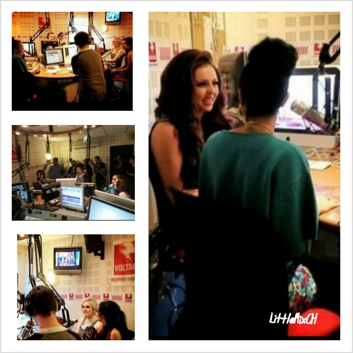 littlemixch:  The girls(@LittleMixOffic) today(25/4/13) at Voltage Radio(@voltageofficiel) in Paris,France