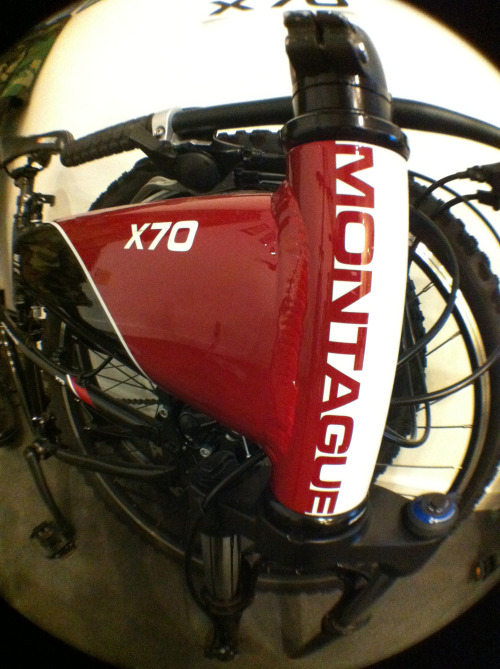X70 folding mountain bike