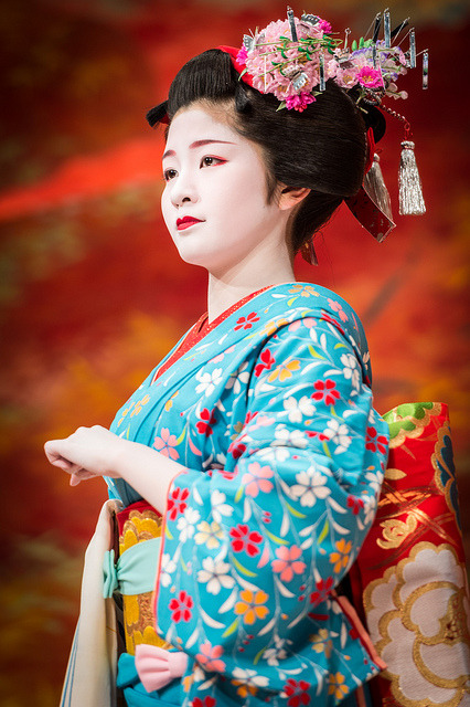 都をどり 2013 - 24 by Stéphane Barbery on Flickr.