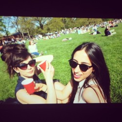 Cheers @katherinehenderson photo cred @helloknight  (at Central Park - Sheep Meadow)