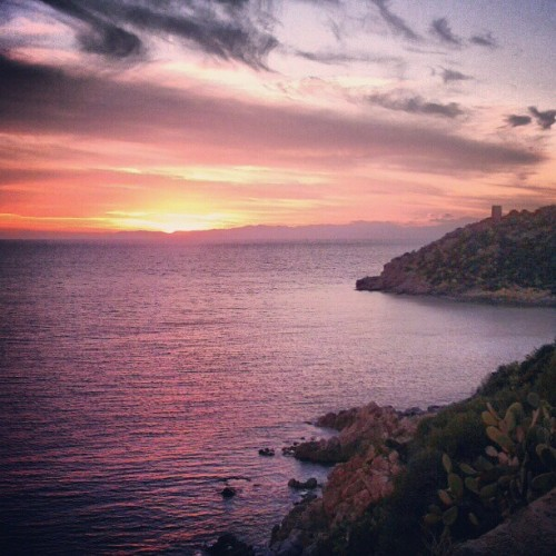 One more shot before I leave you - Sardinia   #sunset #sunrise #sun #TagsForLikes #TFLers #pretty #beautiful #red #orange #pink #sky #skyporn #cloudporn #nature #clouds #horizon #photooftheday #instagood #gorgeous #warm #view #night #morning #silhouette #instasky #all_sunsets