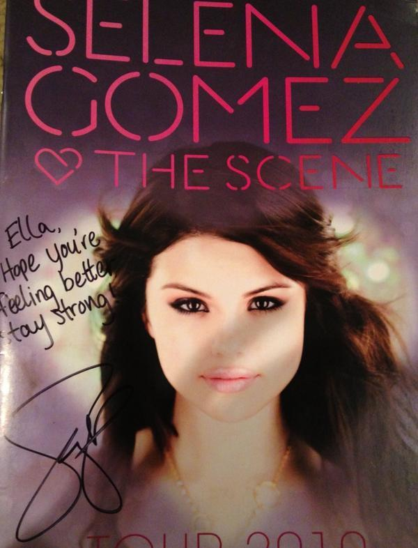 Selena Gomez, Selena Gomez - Wow ok Ella is one lucky girl! Thank you @selenagomez
