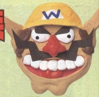 suppermariobroth:  From a Wario's Woods guide segment in a manga.  NIGHTMARE WARIO