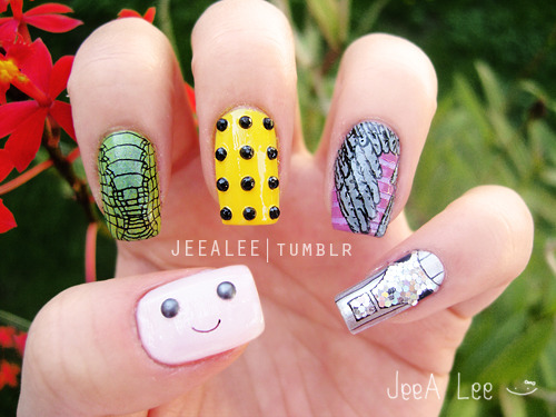 Doctor Who Nails | Monsters And Aliens