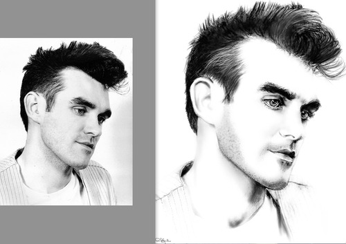 Morrissey digital by me