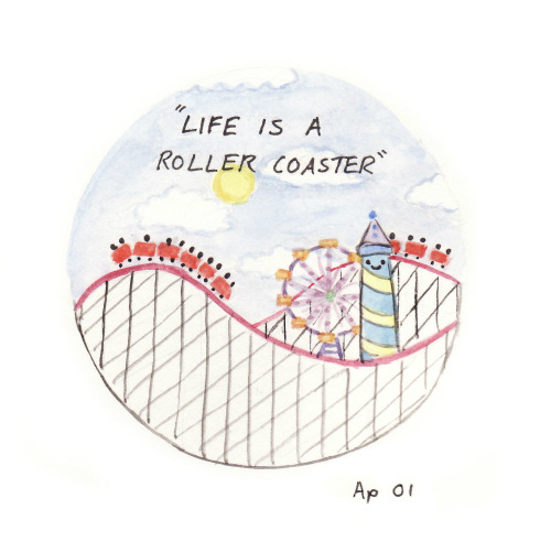 landsofblue:  65/365 life is a roller coaster :)