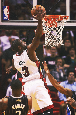 -heat:  21 points and 10 assists