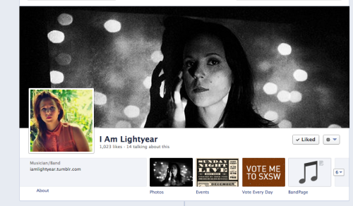 "iamlightyear:  ALLISON WEISS made me a special facebook tab to help make voting for the Jansport SXSW contest easier for everyone!  If you go to MY FACEBOOK, you can click that fancy tab and have at it!  Or you can also click HERE and vote every day until Feb. 12. If the voting button isn't obvious, refresh or click ""vote with facebook"" - I promise it won't post anything to your feed.   There is a winter storm coming to NYC and it has delayed my trip to LA….I am SAD ABOUT IT.  Help me? Vote please!   Did I mention it's my birthday on Sunday?  Help me get to the top 10!"