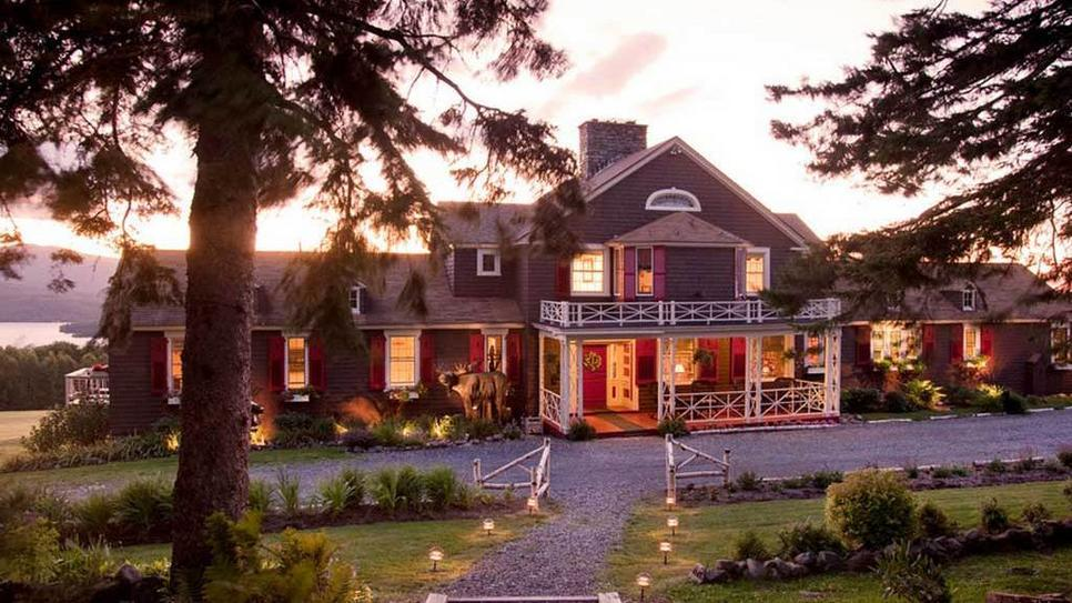 Escape to the Lodge at Moosehead Lake in Greenville, Maine (via Lodge at Moosehead Lake : Daily Escape : Travel Channel)