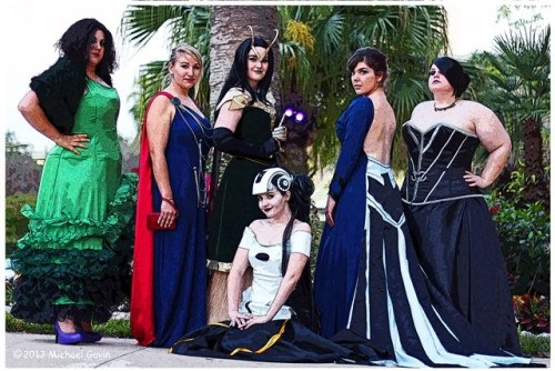 necroticnymph:  Photo by The Paranormal Paparazzi Avengers of Fashion ladies with their creator, ToughTink! Loki - NecroticNymph Maria - KatarinaCosplay Thor - Samskinuity I don't think anyone else has a tumblr…  ahhhh look at all these amazing ladies!! i was so happy to be able to meet them all and see their handiwork in person. truly amazing cosplay bunch right here!  also, this is the first photo of my GLaDOS cosplay that i've seen! woo!