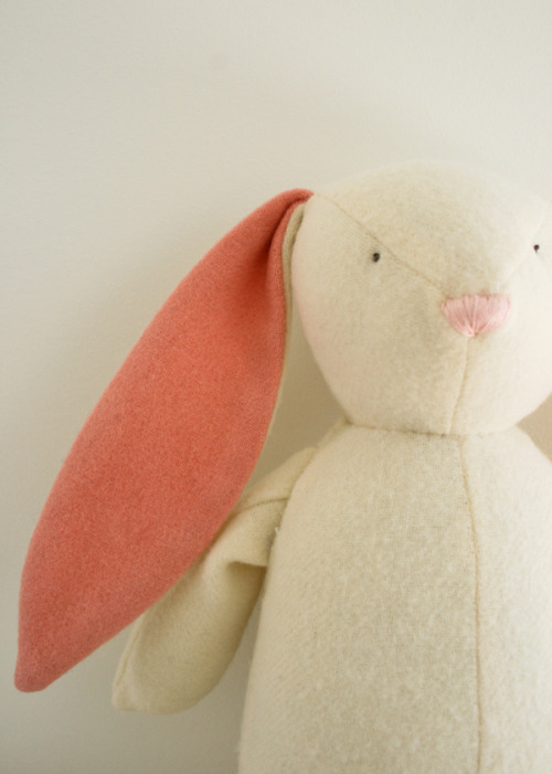 abranchoflilac:  Soft Woolen Bunny | The Purl Bee