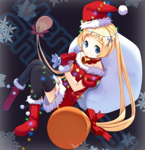 I hope you had a very Dekomori Christmas yesterday.  	(source: http://moe.vg/W4ZgVi)