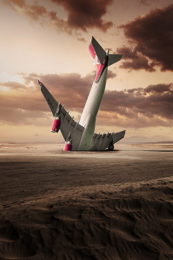 Landing By George Christakis
