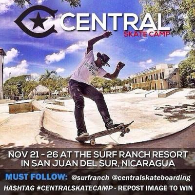 Patín patín  #CentralSkateCamp #repost  @surfranch @centralskateboarding