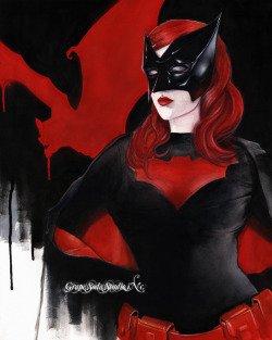 pmpinto:  Kendall Kane as Batwoman - Watercolor on Paper - Brand new piece for Megacon Orlando Convention, part of the Cosplayers Painting Project, a personal project featuring the best Cosplayers around the world. More info at http://cosplayersproject.blogspot.com/ Cosplayer: www.facebook.com/AlouetteCosplayPage