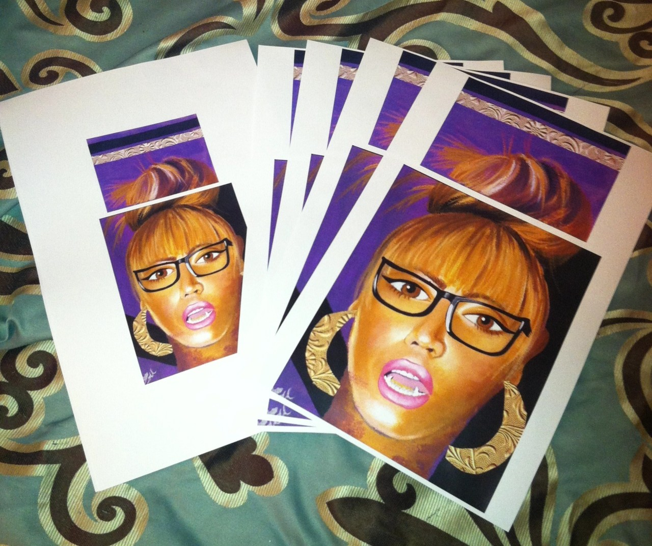 panic-paisley:  #KingBey prints for sale at addart.bigcartel.com ! hand signed, numbered, and dated prior to ship!  #BlackArtistsNetwork  follow here !